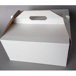 pudełko  na tort z uchwytem 28x28x15cm25szt