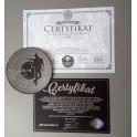 certyfikat A4, 500szt